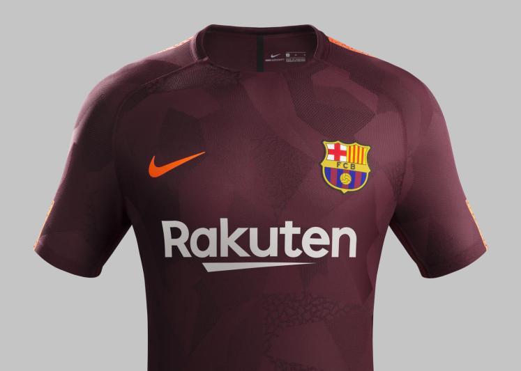 FC Barcelona 2017/18 Third Kit