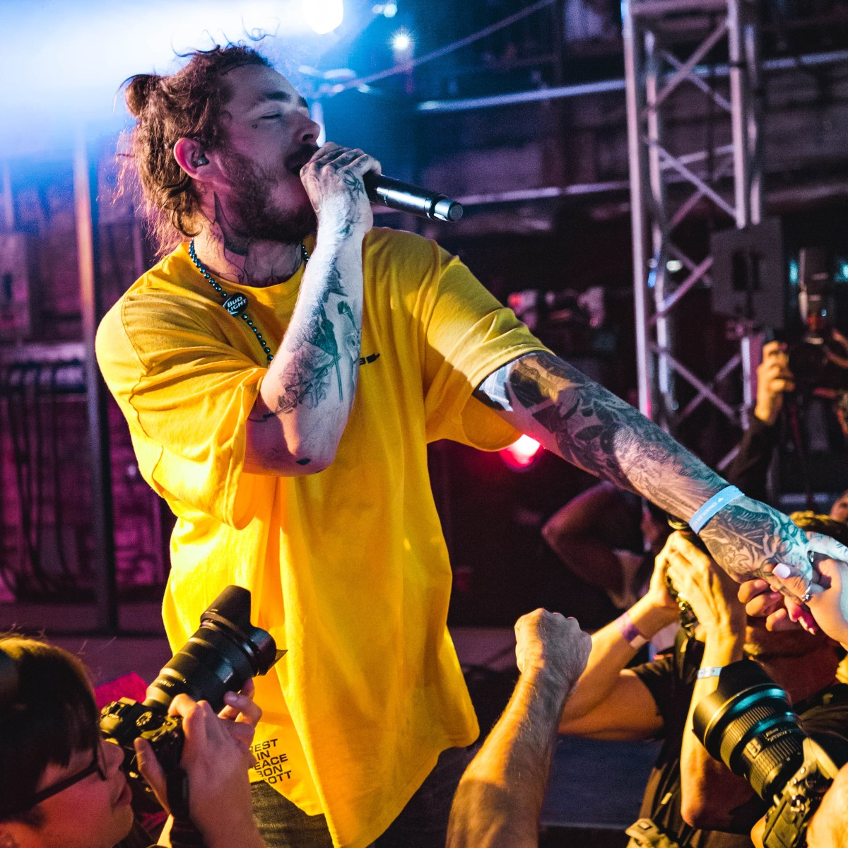 POD Photos: Post Malone at Stubb's - Austin, TX
