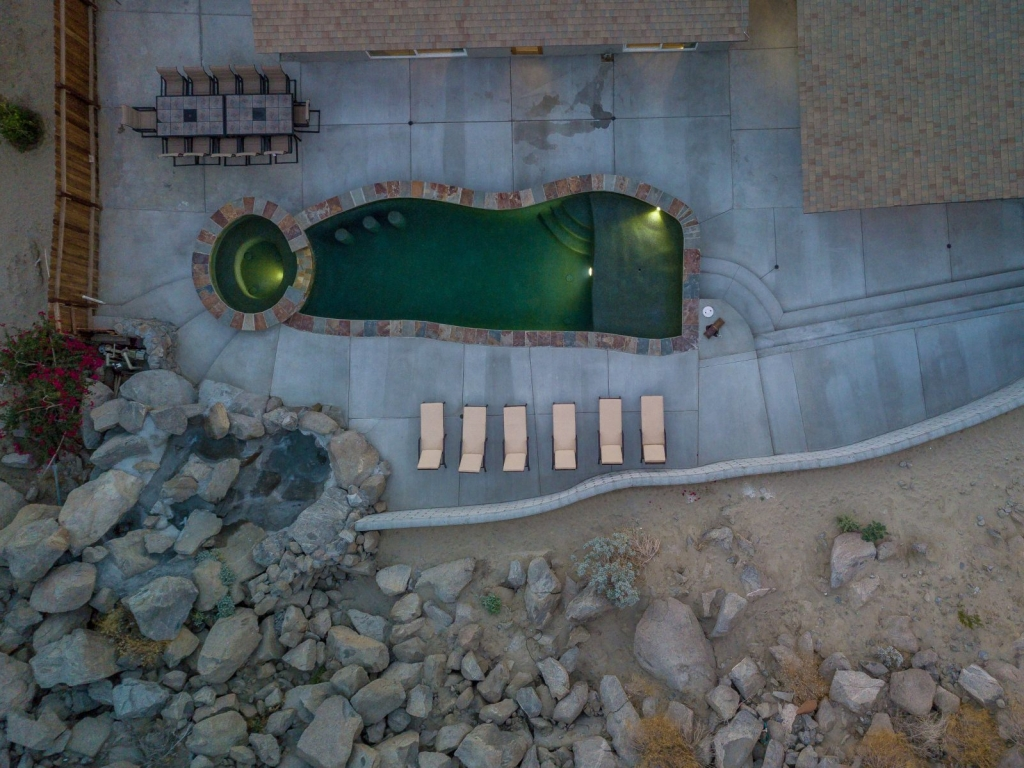 Morrocan Cliff House Palm Vacation Rentals Palm Springs Indio Desert Sourthern California CA DJI_0062copy