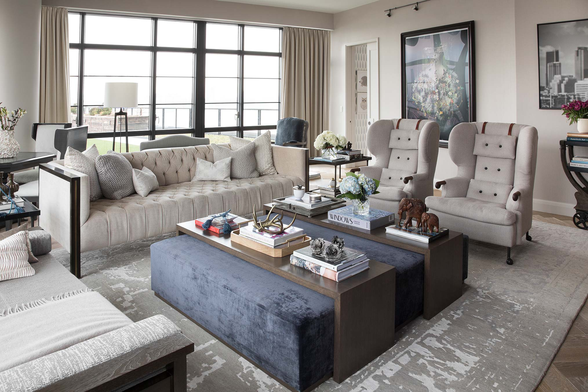 Interior Design Ideas Sunken Living Room