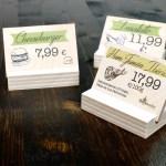 3 esempi di segnaprezzi personalizzati
