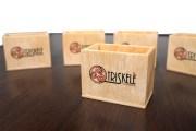 Segnatavolo di legno cassettina box personalizzabile Passo di Rigano