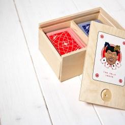 cofanetto per carte da gioco