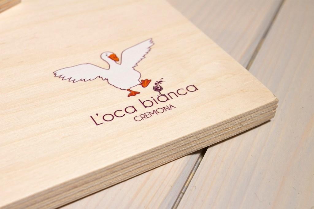 Chianchiere tagliere in legno - L'Oca Bianca