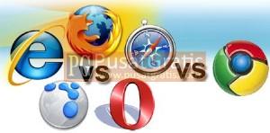 Perang Teknologi antar Browser semakin Panas