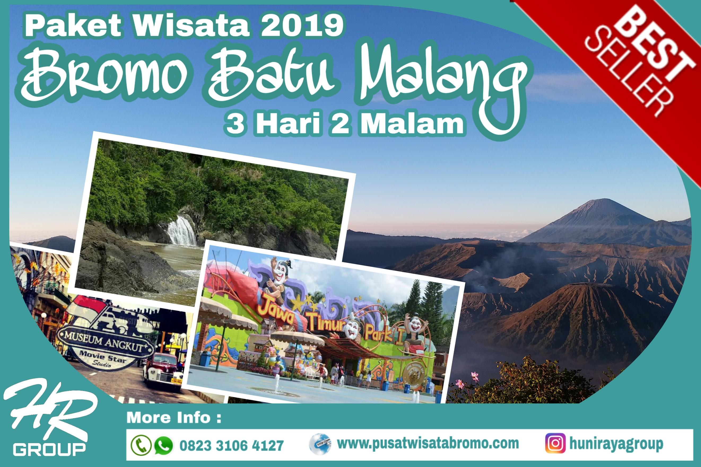 Paket Wisata Bromo Malang Batu 3 Hari 2 Malam Terbaru 2019