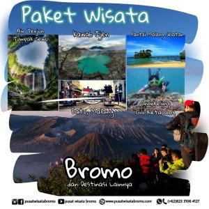 Paket Wisata Bromo Batu Malang Kawah Ijen