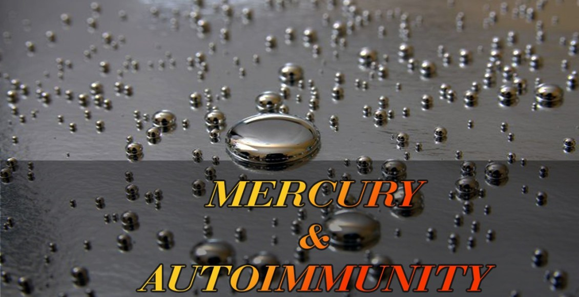 Mercury poisoning can affect the immune system.