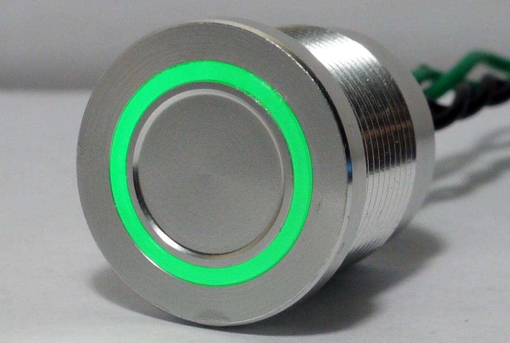 Custom PIEZO Switches  AntiVandal Sealed Illuminated