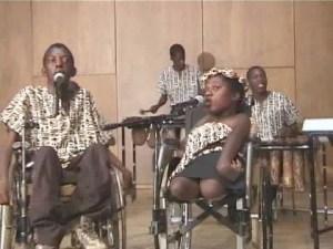 Liyana with lead singer, Prudence Mabyena.