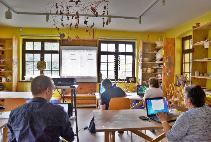 Notebookschule im Unterricht