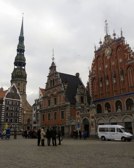 Town Hall Square - Blackheads House