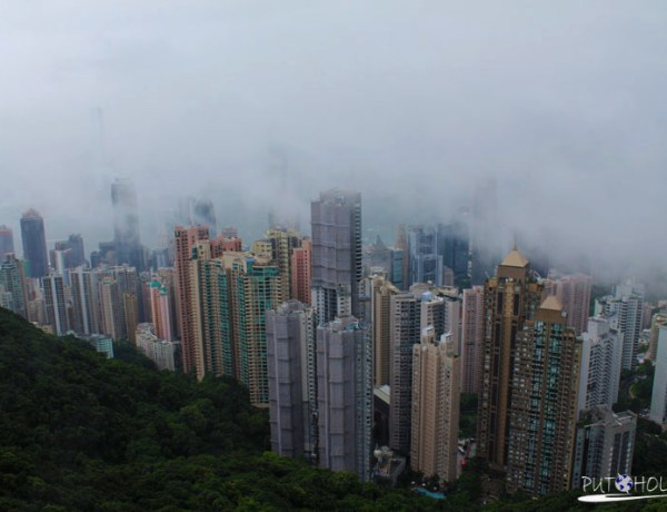 One day in HONG KONG