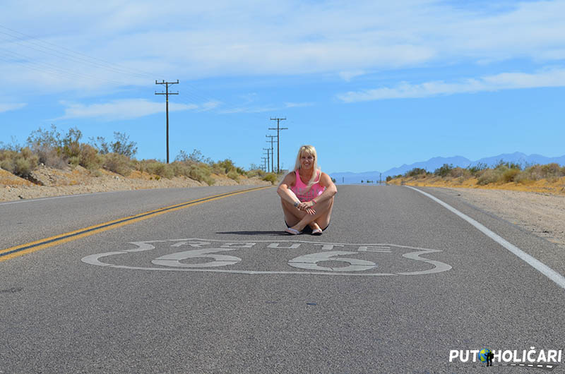 Route 66 - Kalifornija
