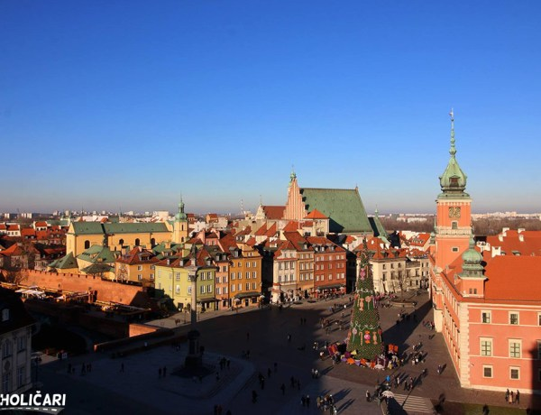 City Break Varšava – Aviokarte iz Zagreba + hotel*** 3 noćenja za 148€