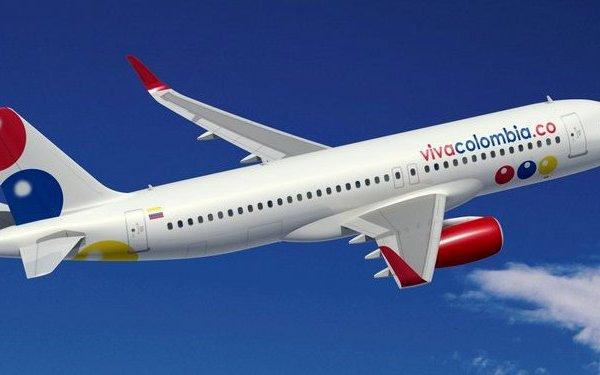 Colombian airline – stajaća mjesta u avionu