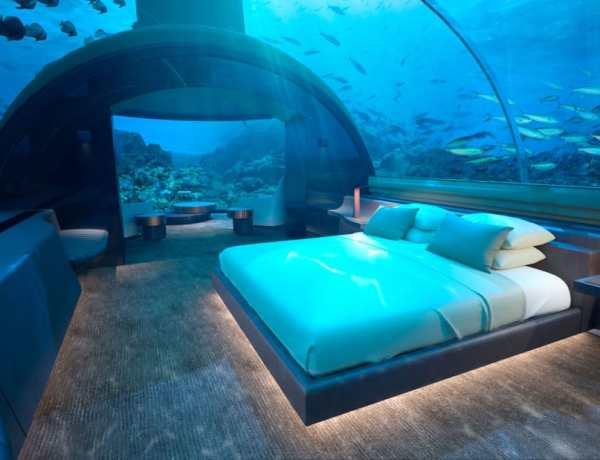 Maldivi – podvodni hotel
