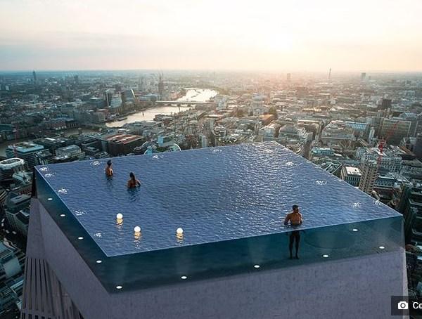 Prvi Infinity bazen s pogledom od 360 stupnjeva u Londonu