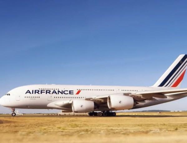 Oproštajni let Airbusa A380 Air Francea