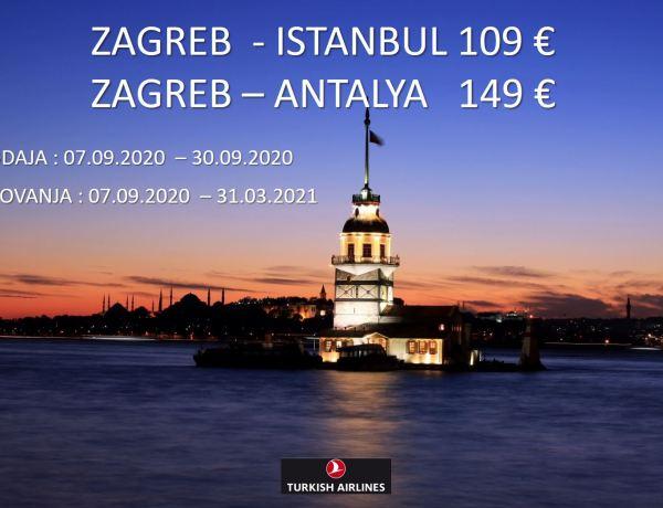 Produžena akcija Turkish Airlinesa iz Zagreba