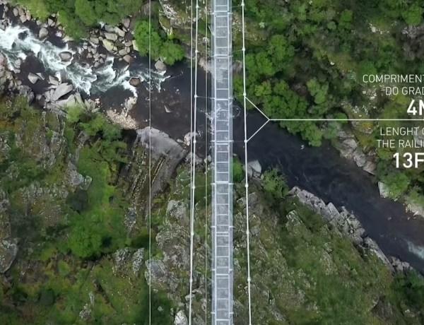 Otvara se najduži viseći most za pješake na svijetu u Portugalu
