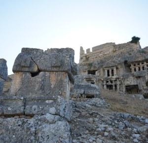 Tlos, antički likijski gradovi uz obalu.