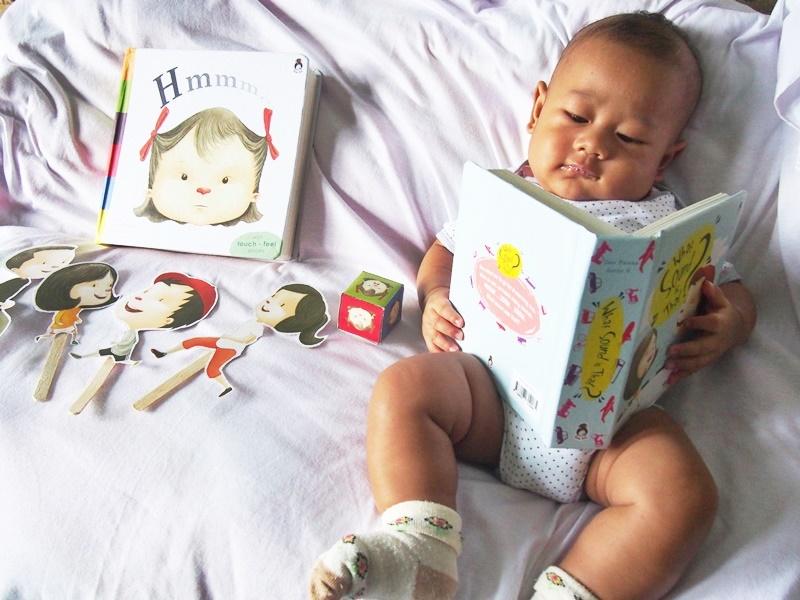 Raka ketika usianya masih 3 bulan