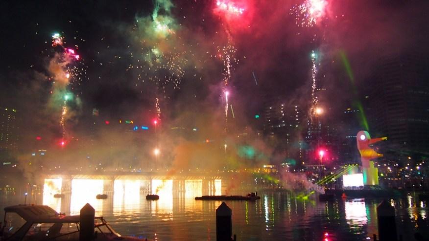 Kemeriahan Australia Day di Darling Harbour