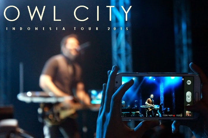 Live Concert – OWL CITY Indonesia Tour 2015