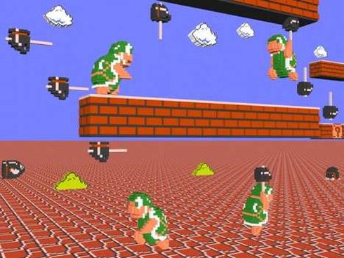 Video Games Retro em 3D