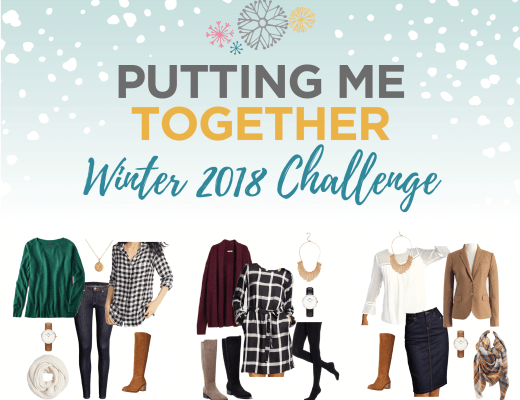 Love Your Style with the Putting Me Together Winter 2018 Challenge