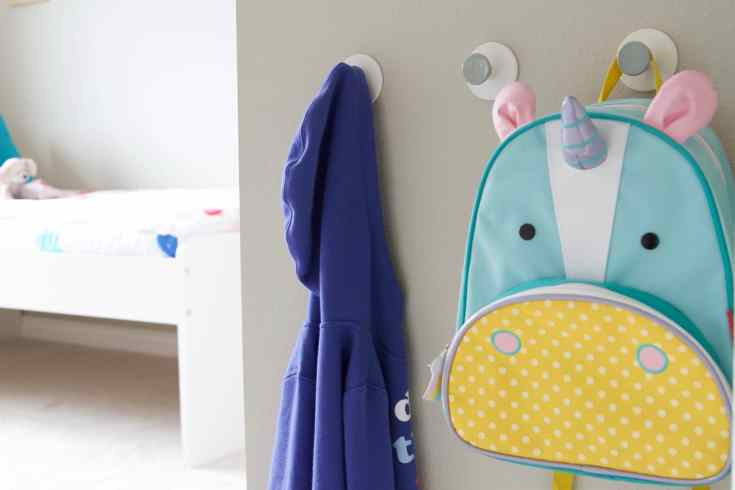 Toddler girl bedroom hooks