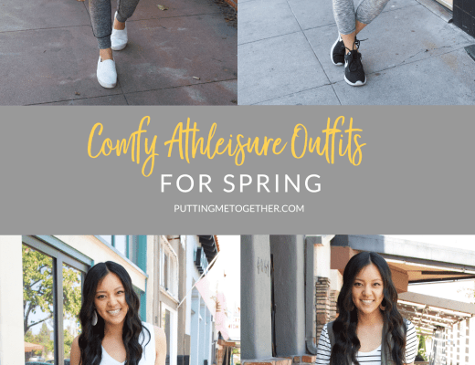 Comfortable Athleisure Outfits for Spring