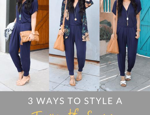 3 Ways to Wear a Jumpsuit