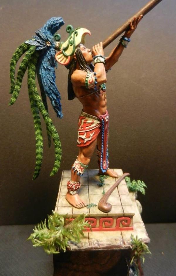 Mayan Quetzal Warrior by alacerenza  PuttyPaint