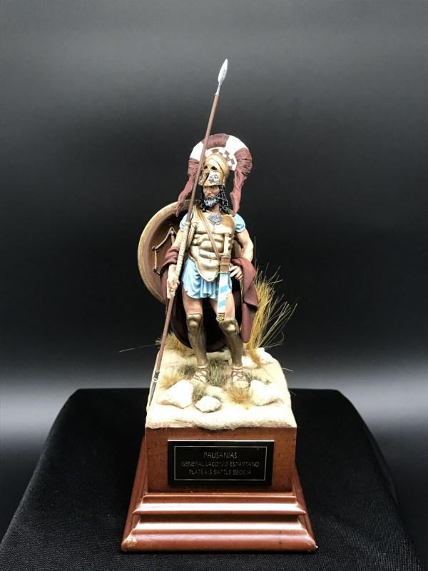 Pausanias General Laconio Espartano En La Batalla De