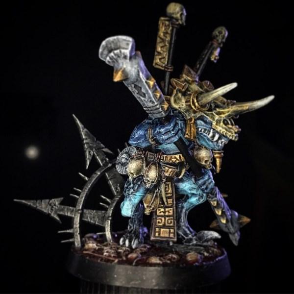Saurus Eternity Warden Wrongbrush Putty&paint