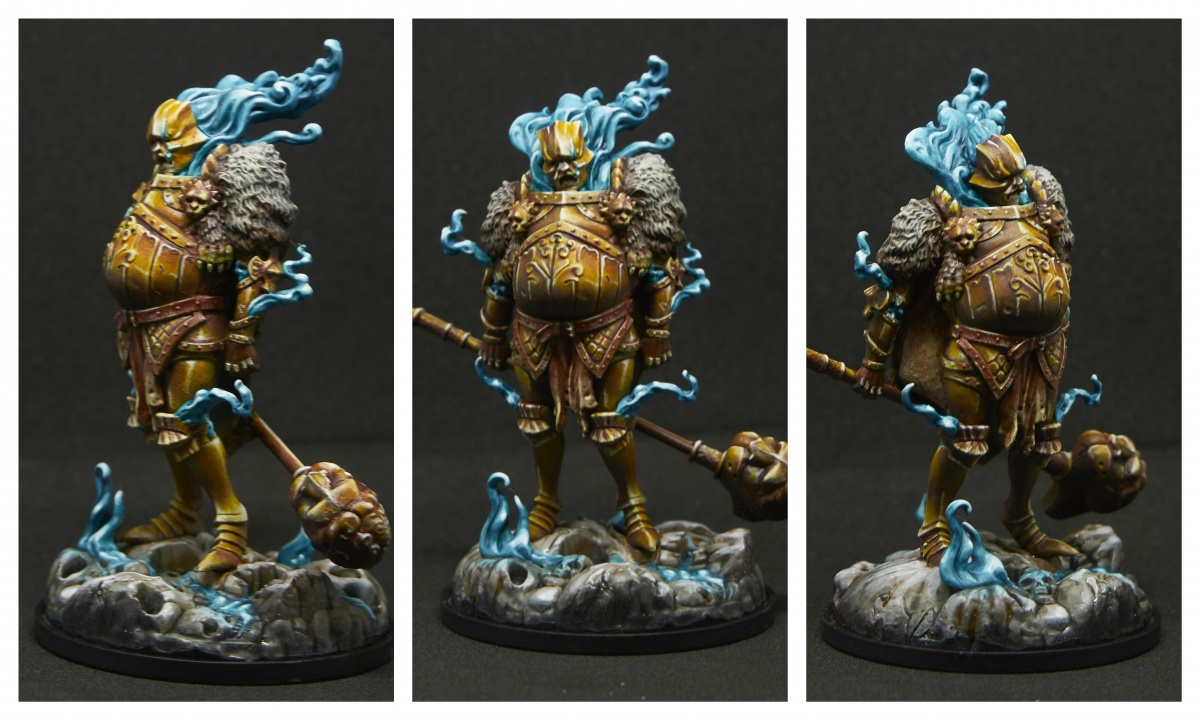 Kingdom Death Gold Smoke Knight by dr_ether  PuttyPaint