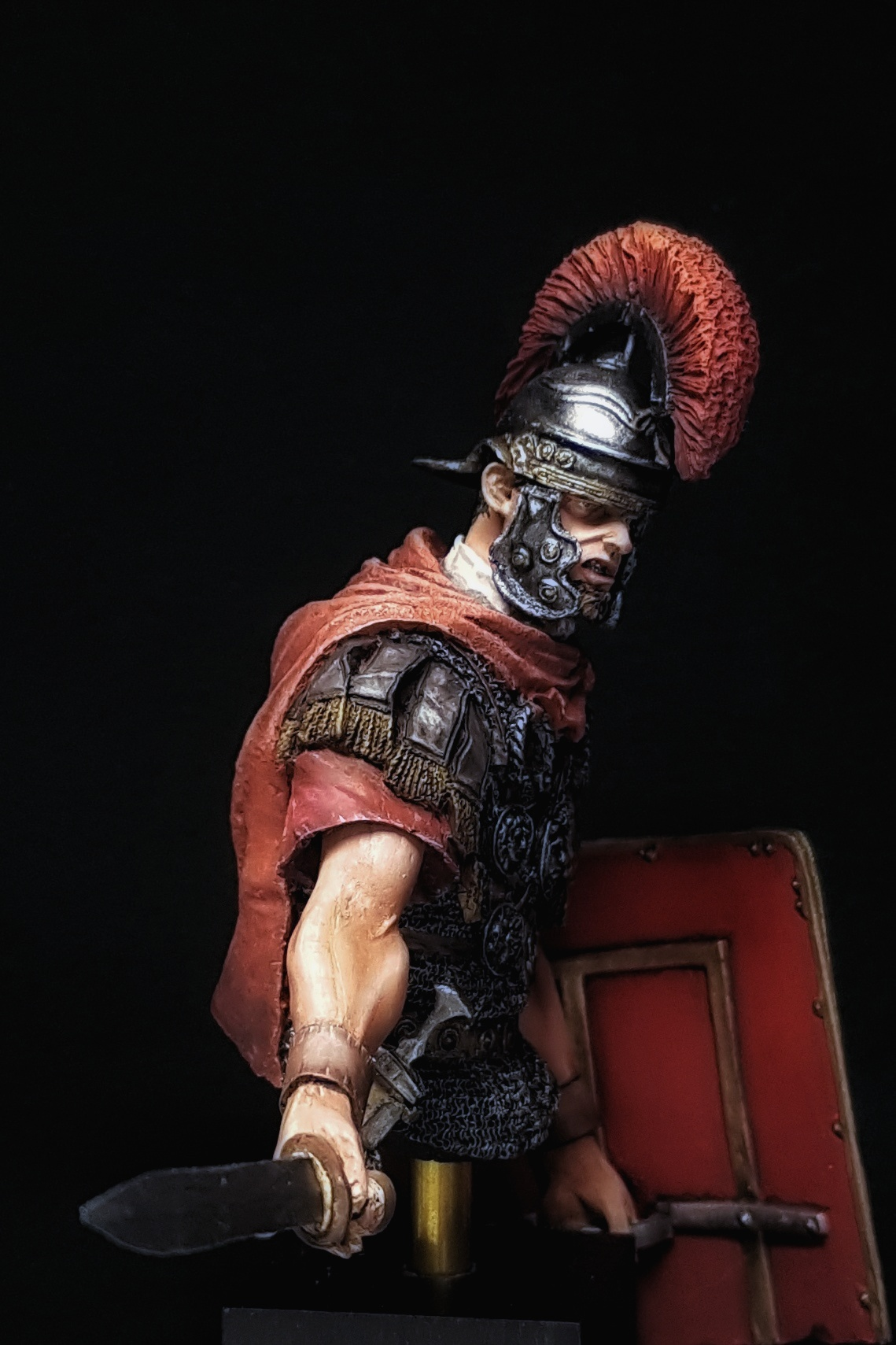 Roman Centurion By Cristiano 183 Putty Amp Paint