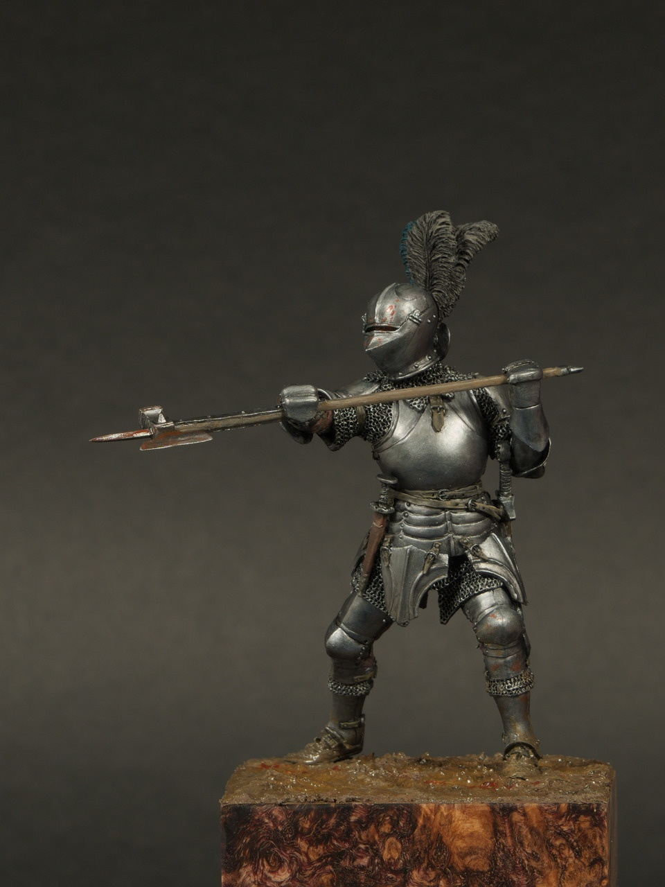 Burgundian knight 15th century by Alexey Kazakov  PuttyPaint