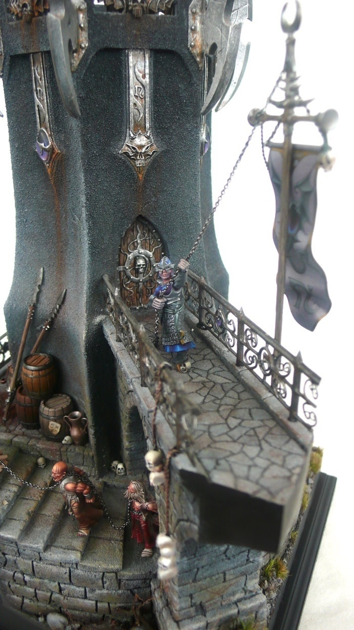 Dark Elves Tower By Stephan Quot Derwish Quot Rath 183 Putty Amp Paint