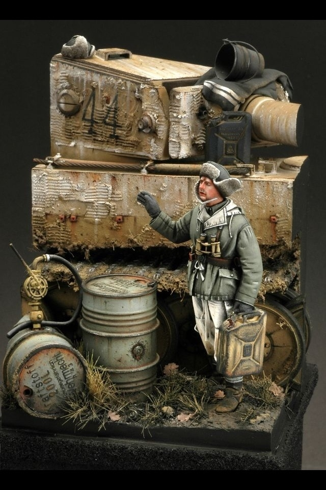 A Tigers Thirst Darius Miniatures Tiger 1 by Carlos