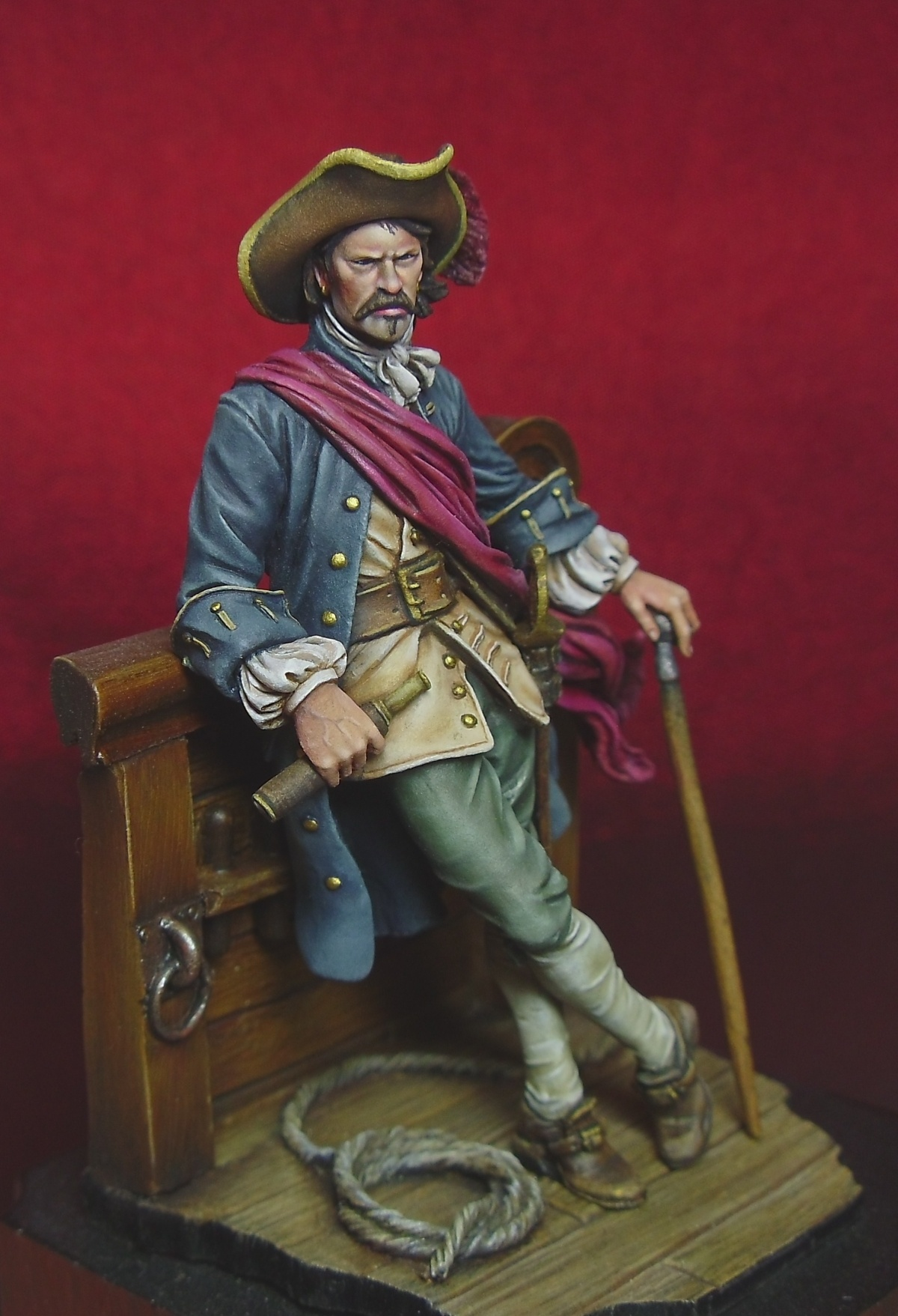 Captain William Kidd By Davidmitchell 183 Putty Amp Paint