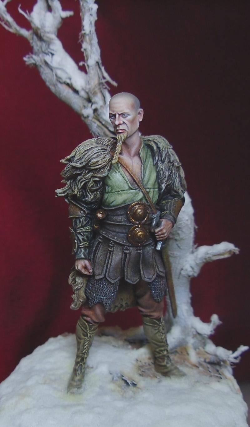 Saxon Warrior by davidmitchell  PuttyPaint