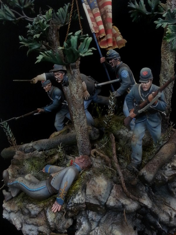 Fixed Bayonets 20th Maine Charge Little Top