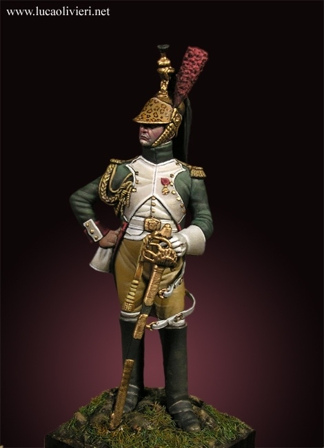 Dragons Officer Metal Modeles 54mm By Lucaolivieri 183 Putty