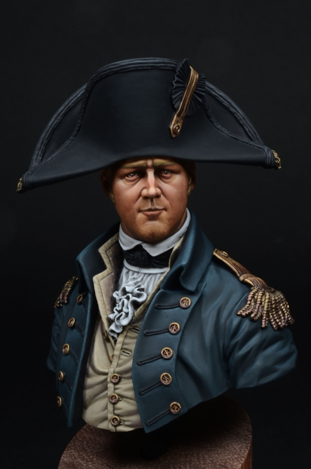 Royal Navy Captain 1806 young miniatures 110 by yoon