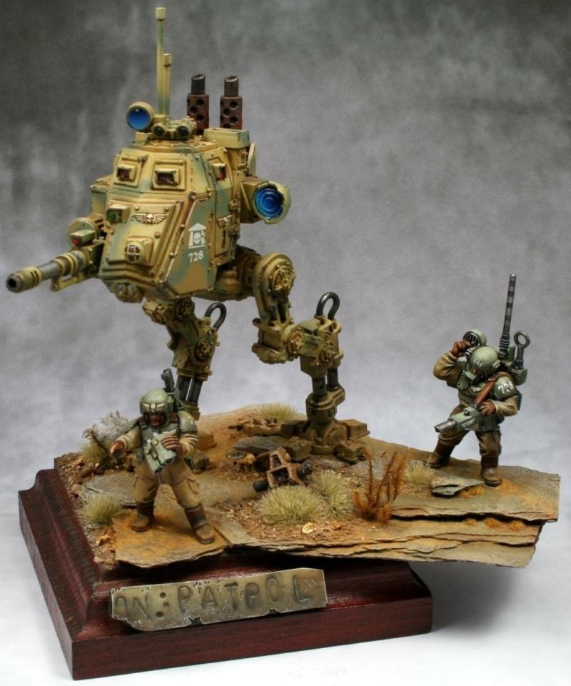 On Patrol by Dirk Barakwolf Seidel  PuttyPaint