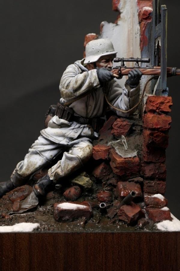 WW2 German Sniper by yong min kim  PuttyPaint