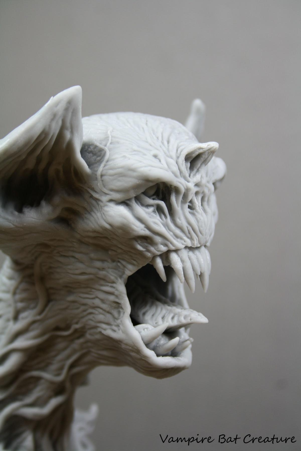 Vampire Bat Creature By George Tsougkouzidis PuttyampPaint